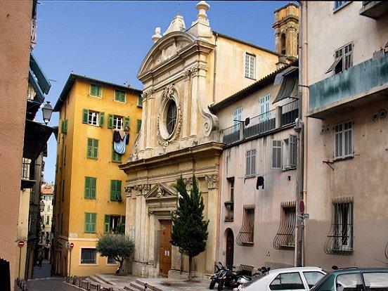 Chapelle Sainte-Croix - церкви Ниццы, достопримечательности Ниццы