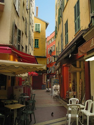 le vieux nice rue du marche le comte de nice en images les photos du comt de nice. Black Bedroom Furniture Sets. Home Design Ideas